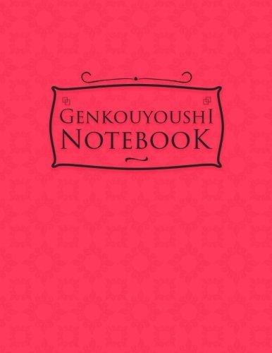 Genkouyoushi Notebook: For Beginners - Japanese Writing Notebook, Hiragana And Katakana Workbook - Pink Cover (Volume 65)