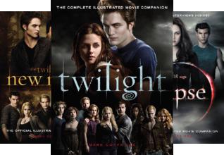 The Twilight Saga : Illustrated Movie Companion (3 Book Series)