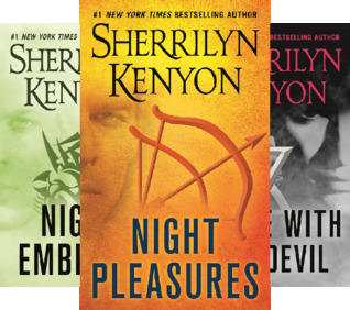 Kenyon Dark-Hunter Boxed Set: Night Pleasures, Night Embrace, Dance with the Devil, Kiss of the Night, Night Play (5 Book Series)