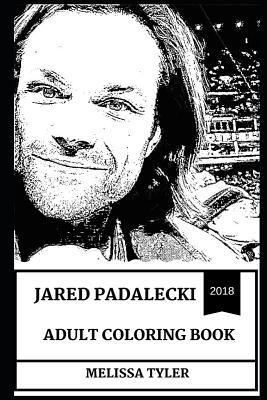 Jared Padalecki Adult Coloring Book: Sam from Supernatural and Gilmore Girls Star, Hot Model and Sex Symbol Inspired Adult Coloring Book