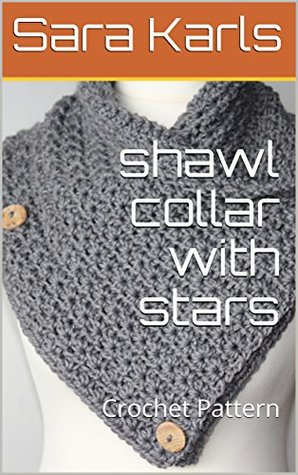 shawl collar with stars: Crochet Pattern