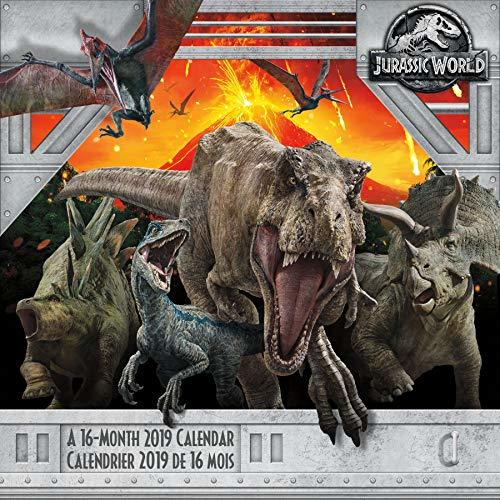 2019 Jurassic World: Fallen Kingdom (Bilingual FRE) Wall Calendar