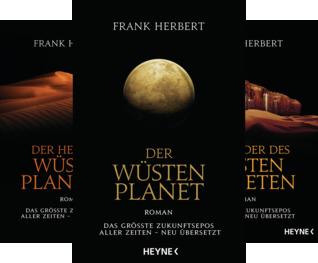 Der Wüstenplanet - neu übersetzt (Reihe in 3 Bänden)