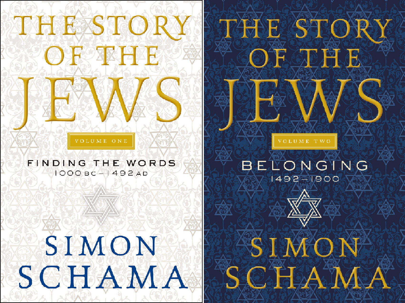 The Story of the Jews (2 Book Series)