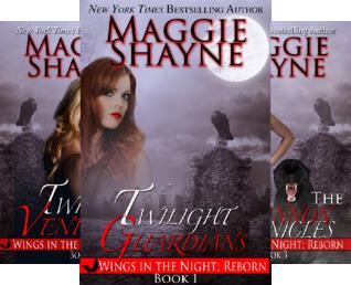 Wings In The Night - Reborn (3 Book Series)