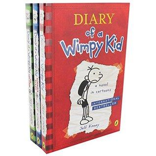 Wimpy Kid x 3 PB Shrinkwrap Pack