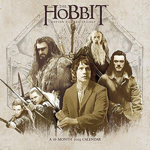 2019 The Hobbit Wall Calendar