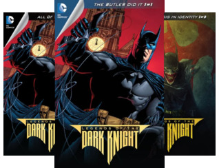 Legends of the Dark Knight (2012-2015) (Issues) (50 Book Series)