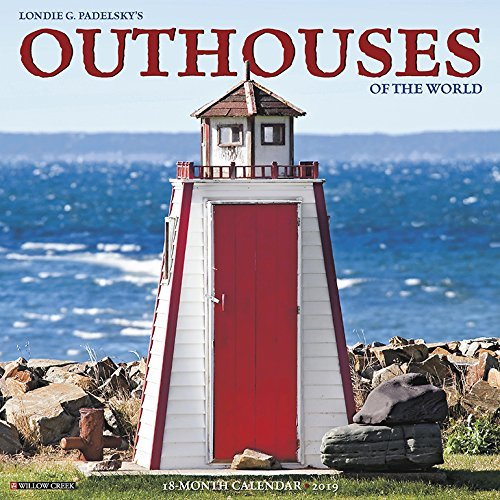 Outhouses 2019 Wall Calendar
