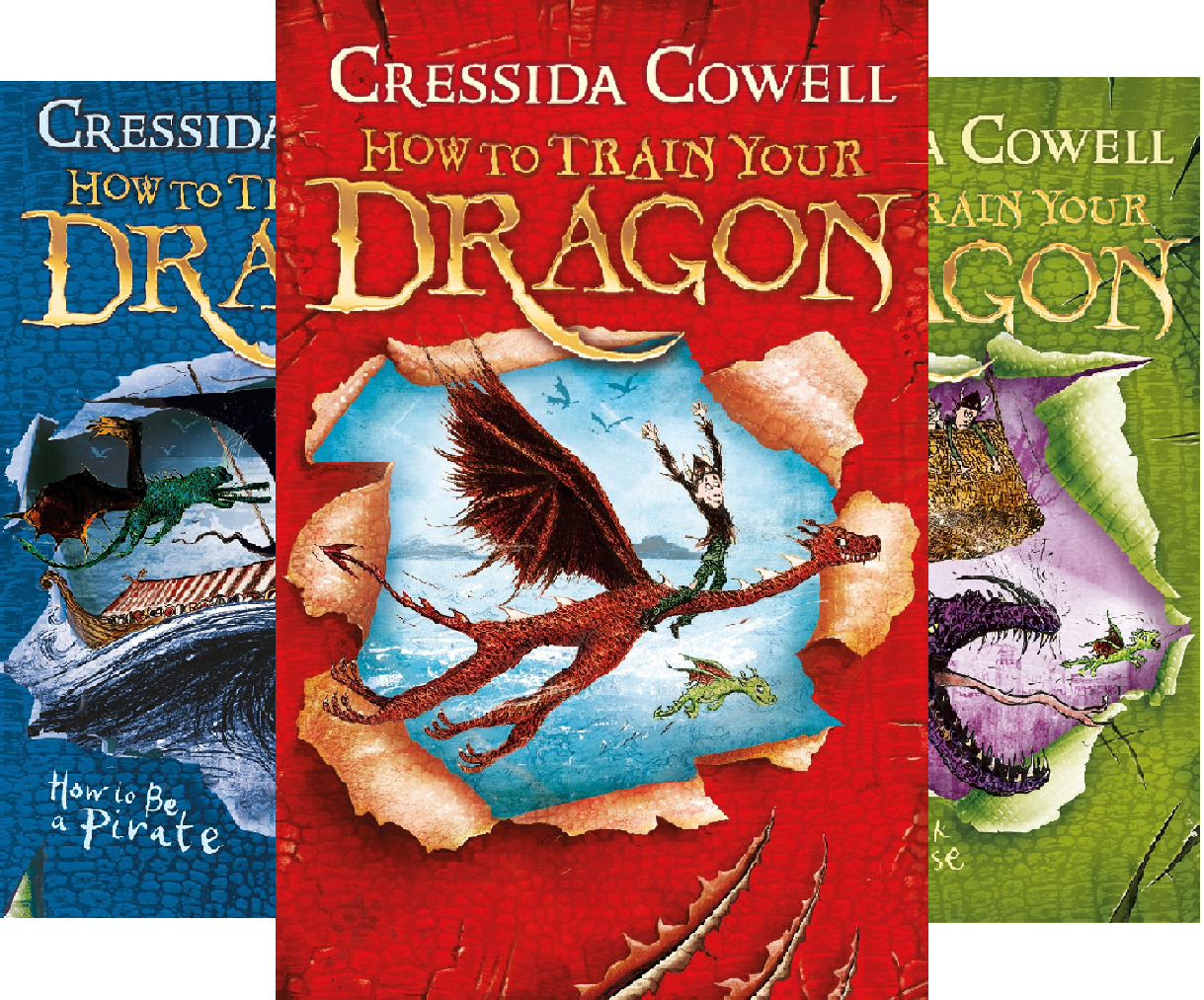 How To Train Your Dragon (12 Book Series)