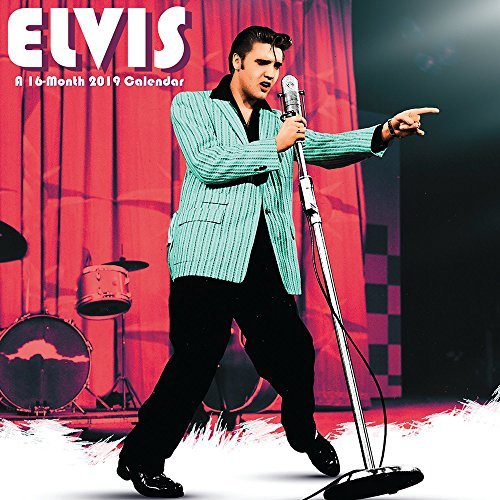 Elvis Mini Wall Calendar (2019)