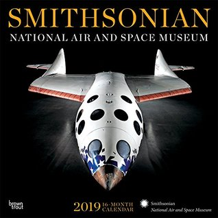 Smithsonian National Air and Space Museum 2019 12 x 12 Inch Monthly Square Wall Calendar by Hachette, NASM Aircraft Spacecraft History