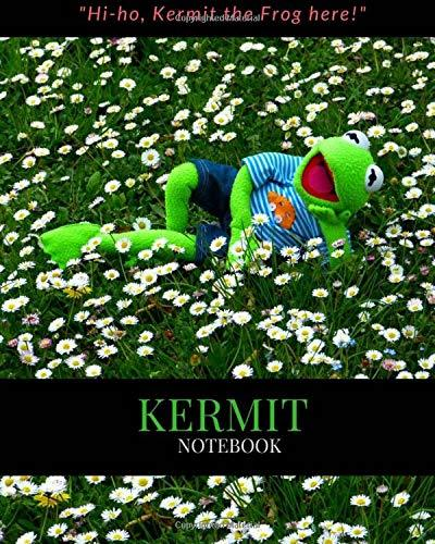 Kermit Notebook: Lined Composition Kermit Notebook