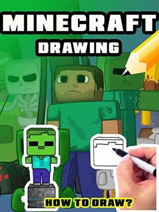 How to draw Minecraft: Easy drawing, Learn to draw Creeper, Enderman, Sword, Herobrine