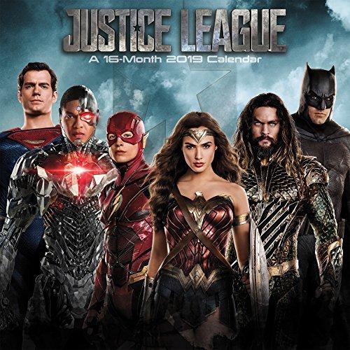 2019 The Justice League (Movie) Wall Calendar