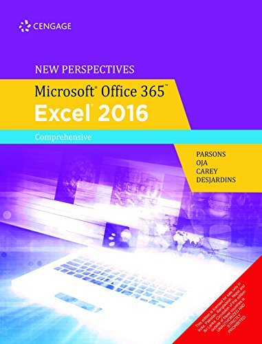 New Perspectives Microsoft Office 365 & Excel 2016: Comprehensive (1st Edition)