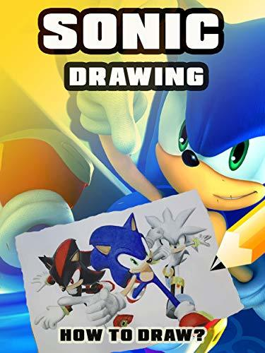 Sonic The Hedgehog Drawing Book