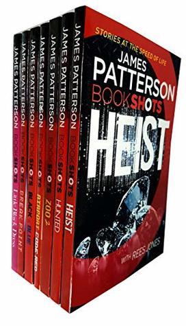 James patterson bookshots series 1: 7 books collection set