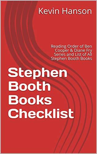 Stephen Booth Books Checklist: Reading Order of Ben Cooper & Diane Fry Series and List of All Stephen Booth Books