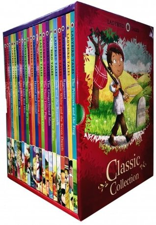 Ladybird Classic Collection (22 books: Cinderella, Gingerbread Man, Goldilocks & Three Bears, Hansel & Gretel, Jack and the Beanstalk, Little Red Riding Hood, Rapunzel, Snow,white and the Seven Dwarfs, Three Billy Goats Gruff, Etc)