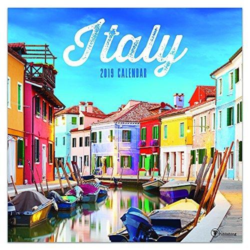 2019 Italy Wall Calendar
