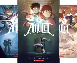 Amulet (8 Book Series)