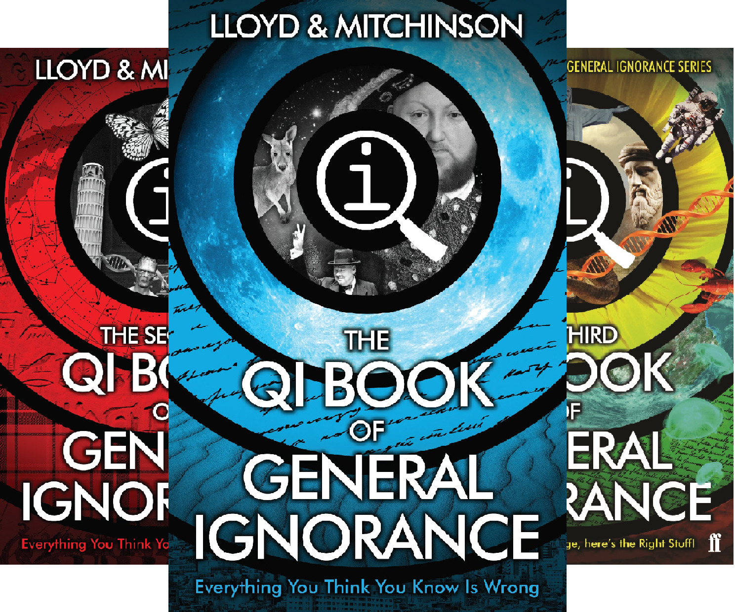 Qi - Book of General Ignorance (3 Book Series)