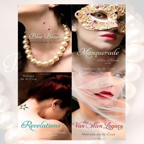 Melissa de la Cruz Blue Bloods Series 4 Books Bundle Collection