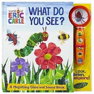 Magnifying Glass Eric Carle - What Do You See?