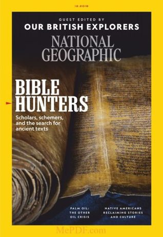 National Geographic, December 2018
