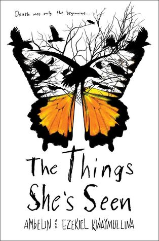 The Things She's Seen, Ambelin Kwaymullina, Ezekiel Kwaymullina, Australian fiction, Austrailan YA, Aboriginal fiction, Aboriginal young adult, mystery books, surrealist books, magical realism, book review