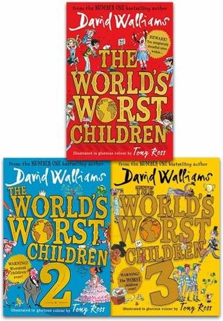 David Walliams Worlds Worst Children Collection 3 Books Set