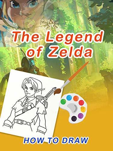 How to draw ZELDA:The Legend of Zelda