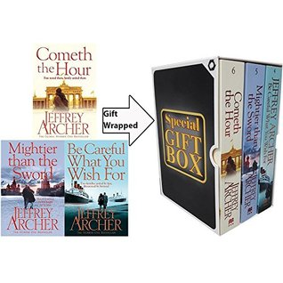 Jeffrey Archer Collection Clifton Chronicles Series 3 Books Bundle Gift Wrapped Slipcase Specially For You