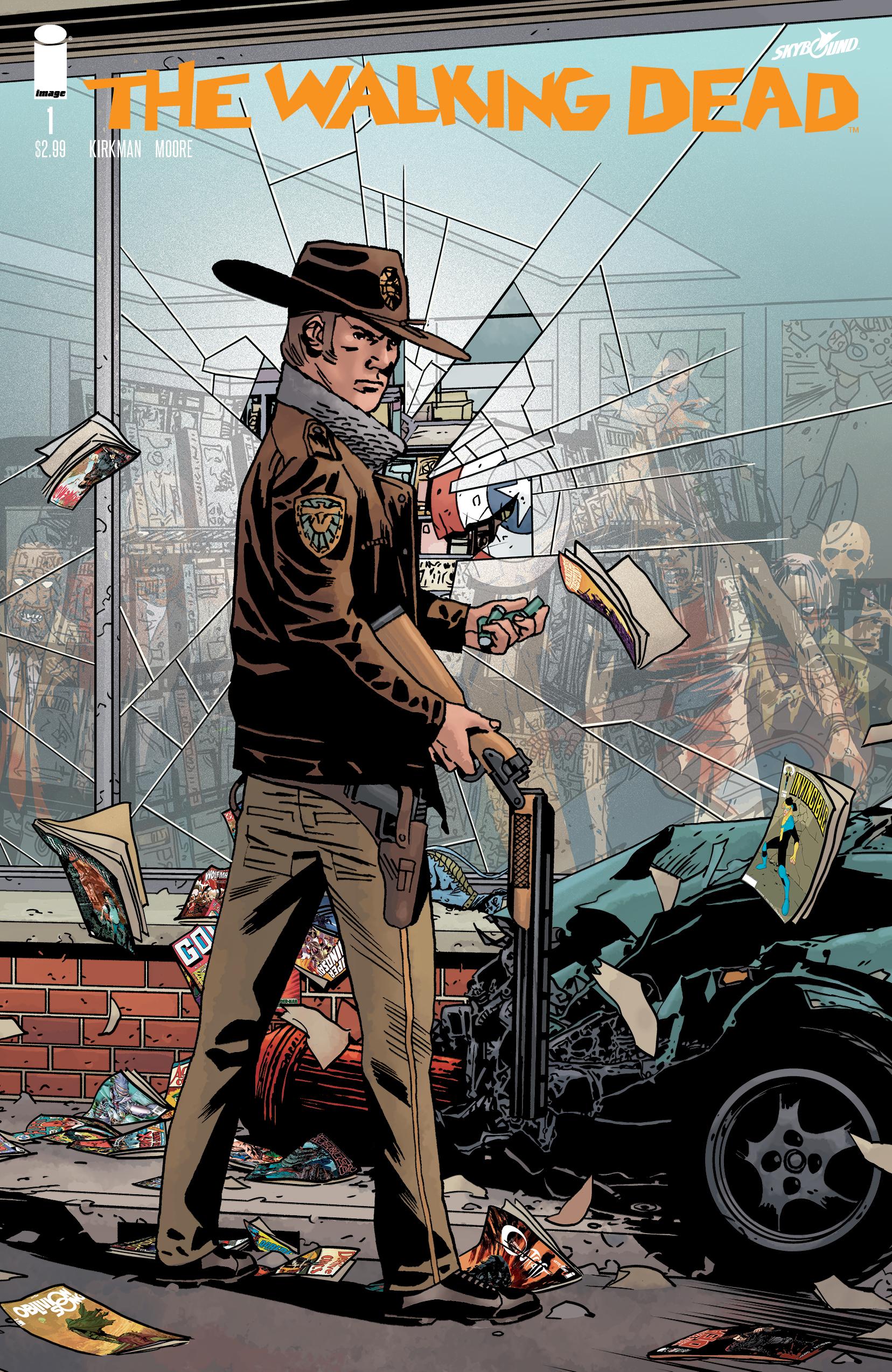 The Walking Dead #1 15th Anniversary Retailer Edition