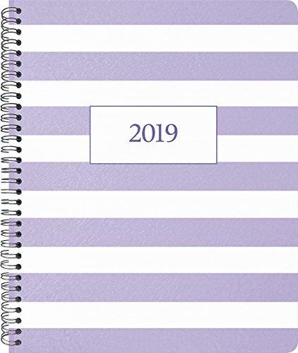 2019 Pastel Purple Weekly/Monthly Planner - 8.5 x 11