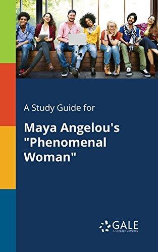 "A Study Guide for Maya Angelou's ""Phenomenal Woman"""