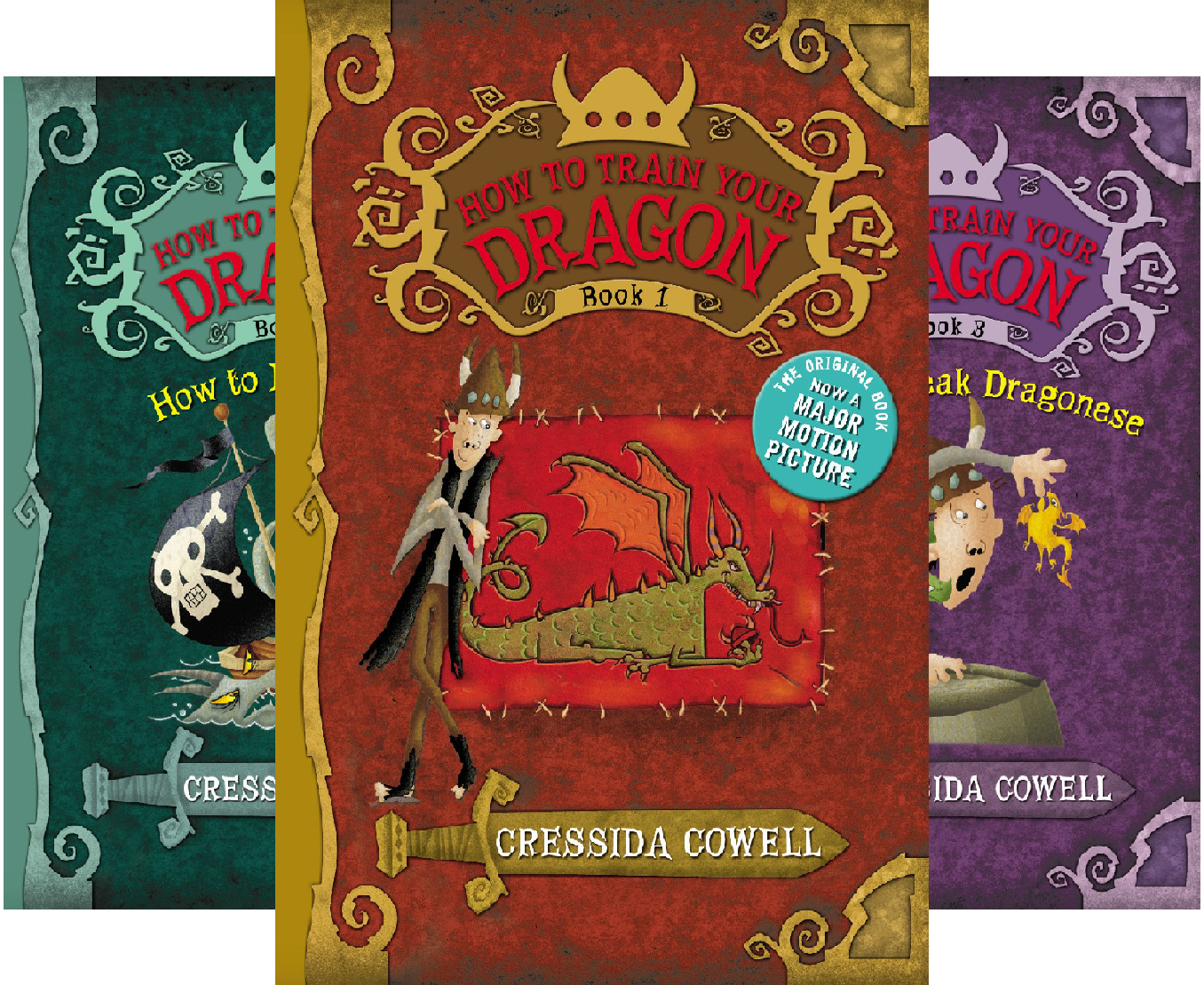 How to Train Your Dragon: Hardcover Gift Set #3 (9 Book Series)