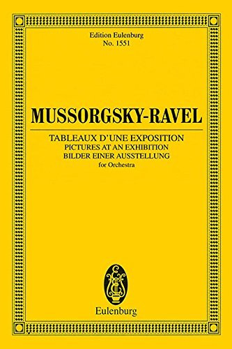 Pictures at an Exhibition: Instrumetnation by Maurice Ravel - Study Score