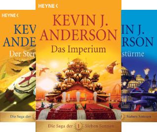 Die Saga der Sieben Sonnen-Romane (Reihe in 7 Bänden)