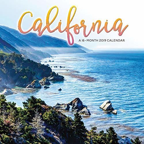 2019 California Wall Calendar
