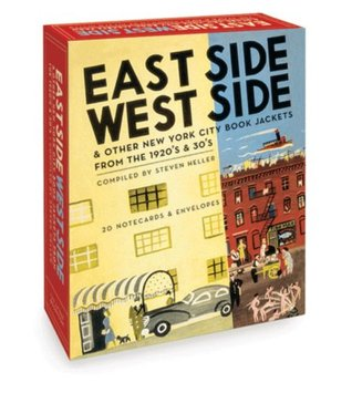 East Side West Side, A Postcard Book: New York City Book Jackets from the 1920's and 30's