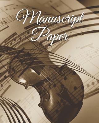 Manuscript Paper: Manuscript Paper Blank Music Sheets 12 Stave 100 Page