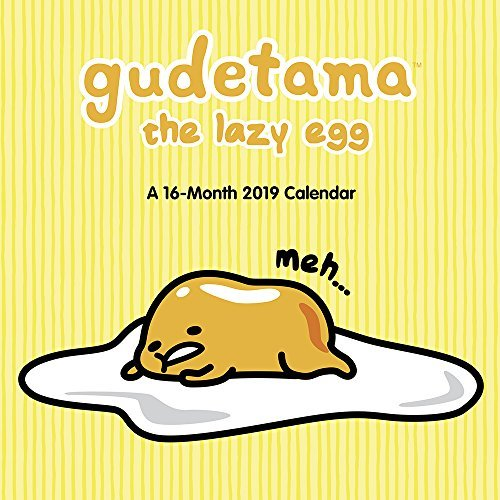 Gudetama Wall Calendar (2019)