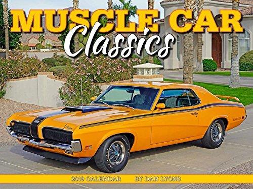 Muscle Car Classics 2019 Calendar