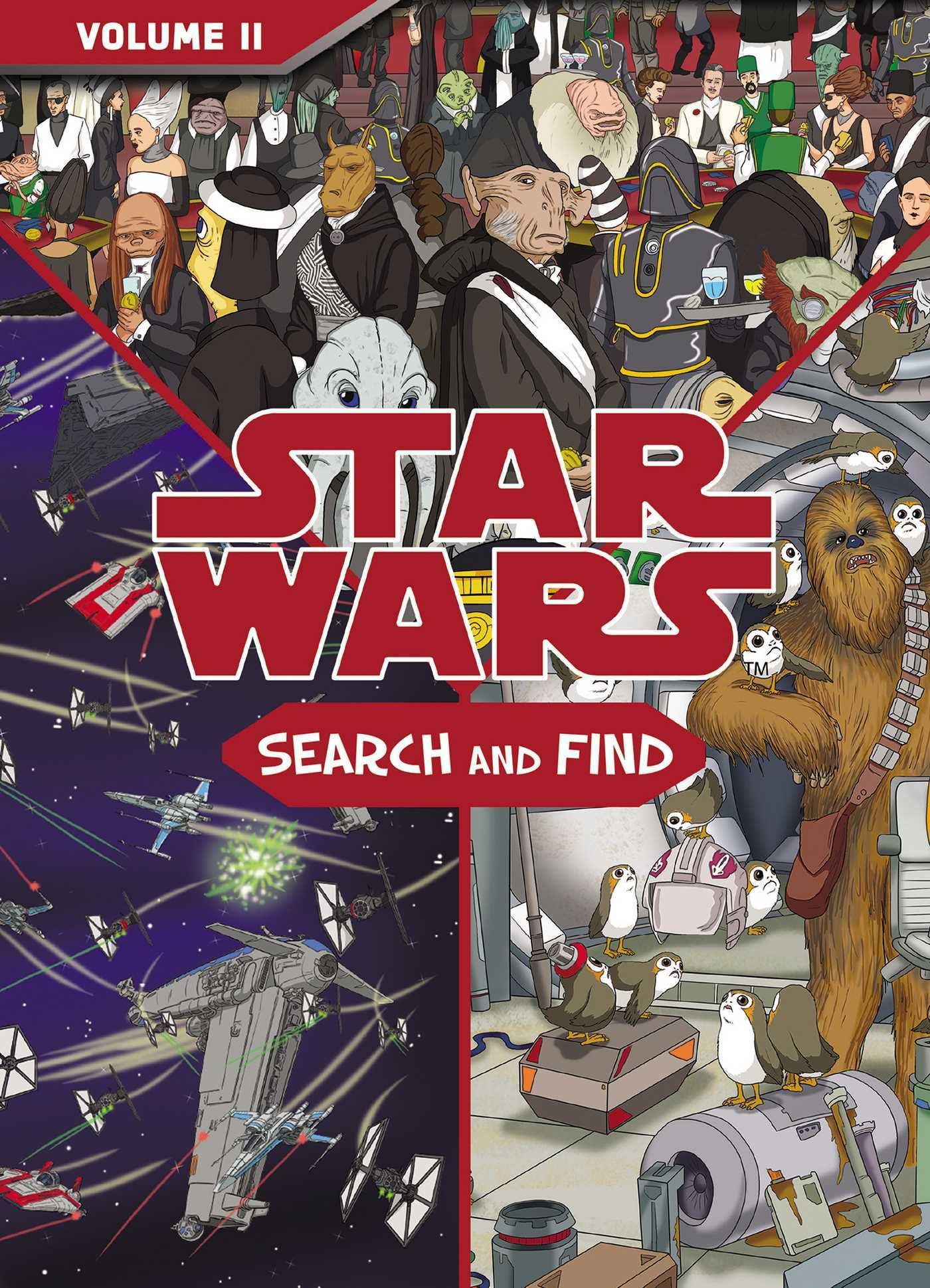 Star Wars: The Last Jedi Search and Find