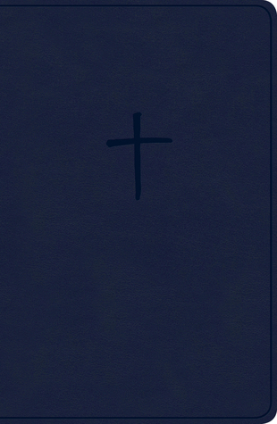 KJV Compact Bible, Navy LeatherTouch, Value Edition