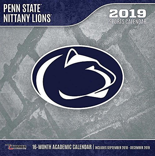 Penn State Nittany Lions 2019 12x12 Team Wall Calendar