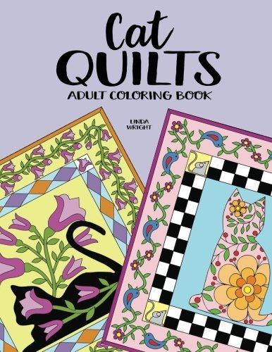 Cat Quilts: Adult Coloring Book