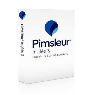 Pimsleur English for Spanish Speakers Level 3 CD: Learn to Speak, Understand, and Read English with Pimsleur Language Programs